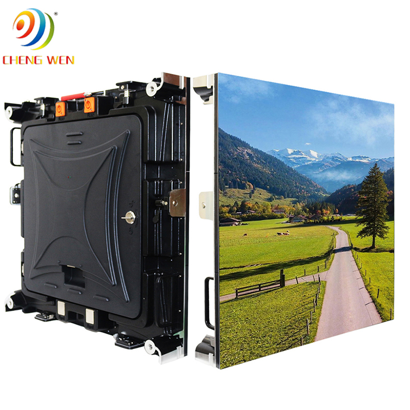outdoor P3 576*576mm led screen display with rental panels