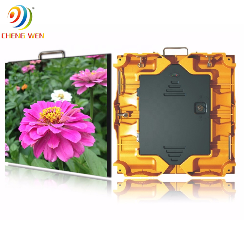 outdoor P4 512*512mm led screen display with rental panels