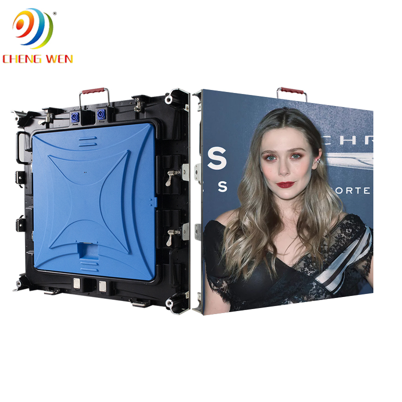 Outdoor P5 640*640mm led screen display with rental panels