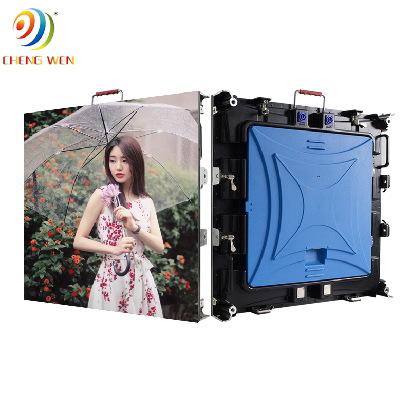 Outdoor P6.67 led screen display with 640*640mm rental panels